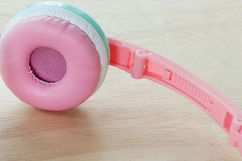 Xiaomi Redmi Note 9T vezetékes fejhallgató gyerekek számára GJBY Audio Extra Bass (GJ-04) rózsaszín
