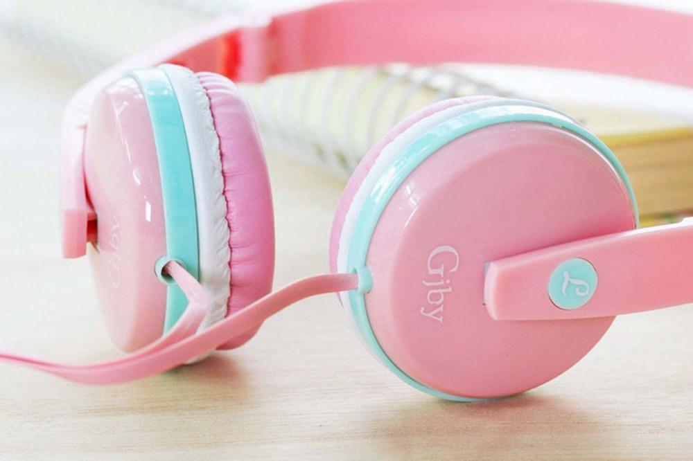 Samsung Galaxy A72 5G (SM-A726B) vezetékes fejhallgató gyerekek számára GJBY Audio Extra Bass (GJ-04) fekete