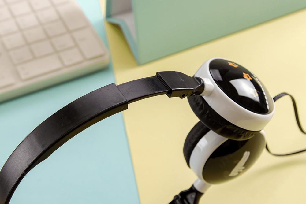 Xiaomi Redmi Note 10s vezetékes fejhallgató gyerekek számára GJBY Audio Extra Bass (GJ-06A) fekete