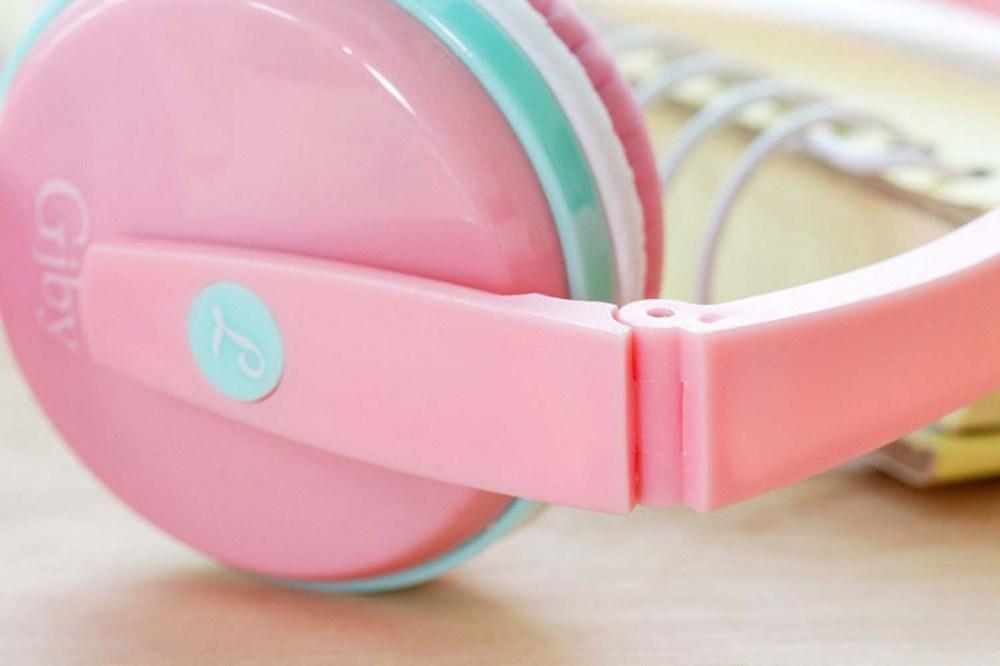 Xiaomi Redmi Note 9T vezetékes fejhallgató gyerekek számára GJBY Audio Extra Bass (GJ-04) sárga