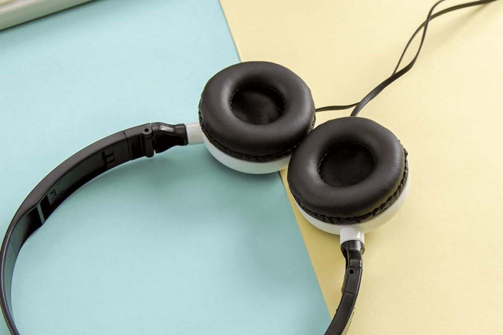 Samsung Galaxy A72 5G (SM-A726B) vezetékes fejhallgató gyerekek számára GJBY Audio Extra Bass (GJ-06A) rózsaszín