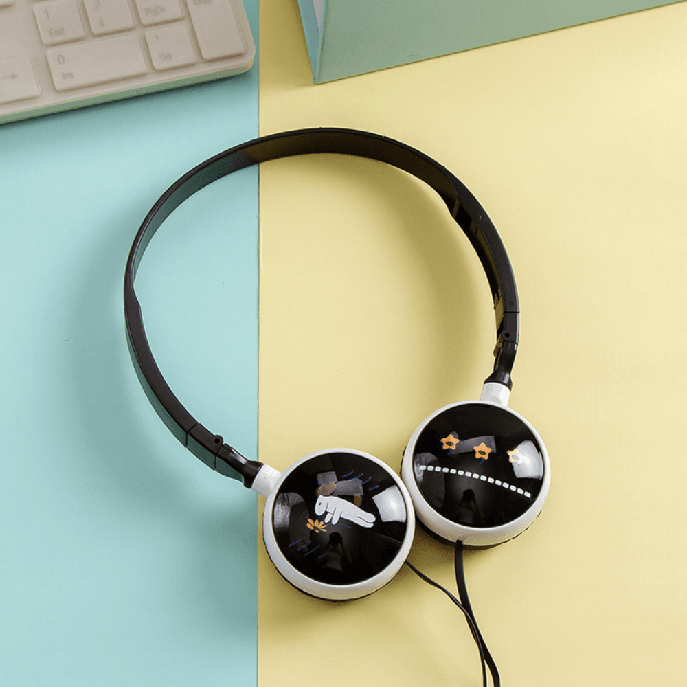 Xiaomi Redmi Note 9T vezetékes fejhallgató gyerekek számára GJBY Audio Extra Bass (GJ-06A) zöld