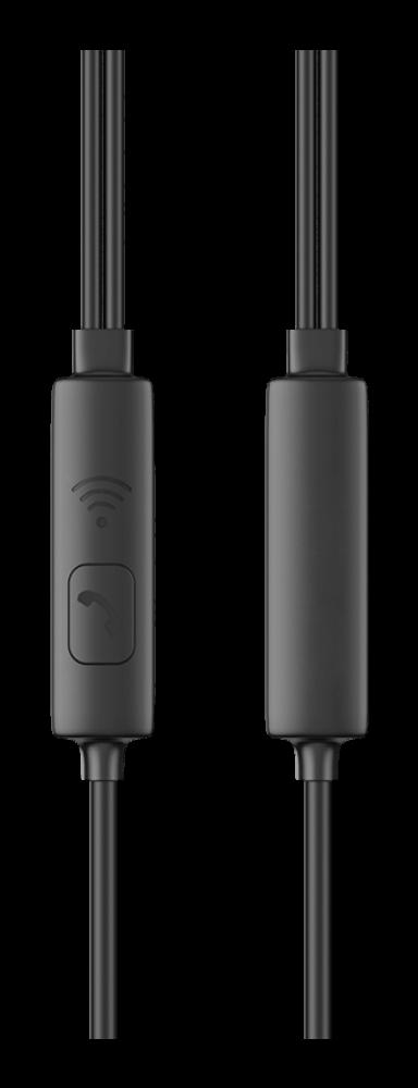 Xiaomi Redmi Note 9T Borofone M61 fülhallgató - headset nagy teljesítményű, univerzális fekete