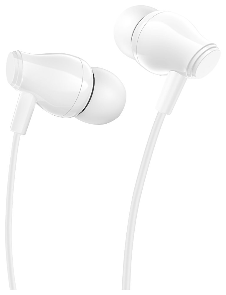 Xiaomi Redmi Note 9T Borofone M61 fülhallgató - headset nagy teljesítményű, univerzális fehér