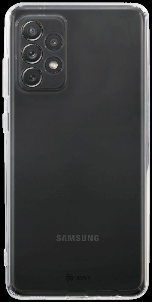 Samsung Galaxy A72 5G (SM-A726B) szilikon tok gyári ROAR átlátszó