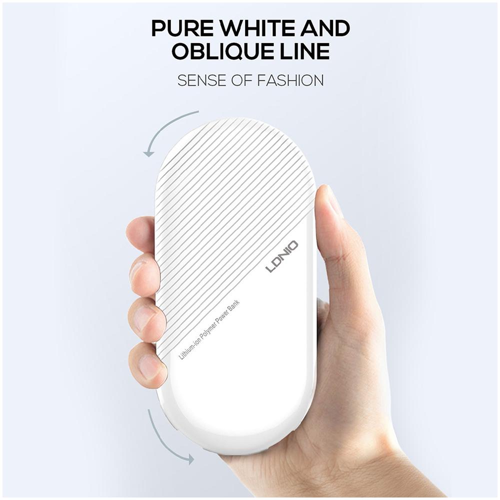 Xiaomi Redmi Note 10s power bank - külső akkumulátor 10000 mAh fehér